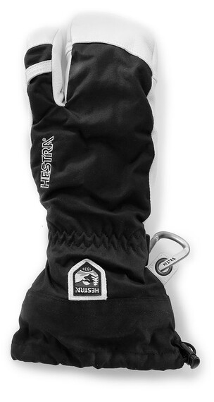 Hestra Army Leather Heli Ski 3-Finger Black (100)